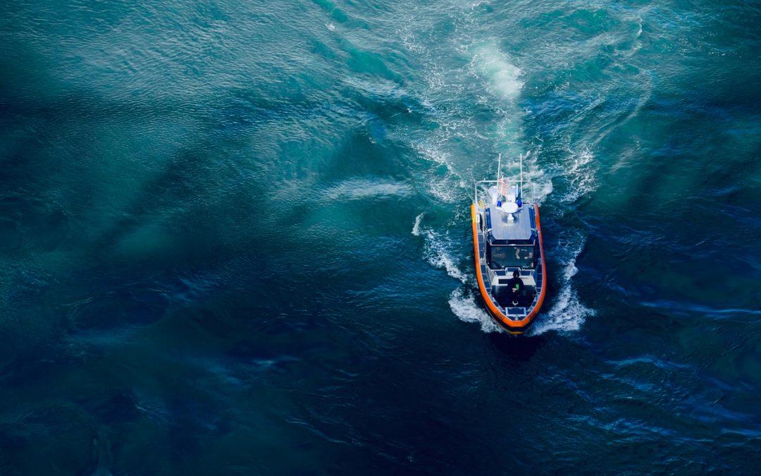Drohnen unterstützen den Schifffahrtsverkehr