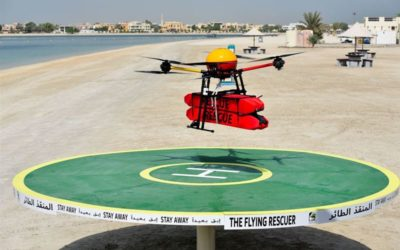 Helping Hand from a 'Flying Rescuer' Drone in Dubai
